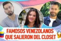 ¡Con orgullo! Famosos venezolanos gay que salieron del closet y no te enteraste