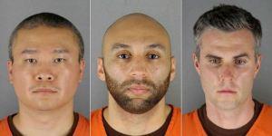 Los otros tres exoficiales acusados de la muerte de Floyd harán su primera aparición en la corte