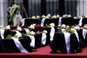 Urnas de migrantes fallecidos en Estados Unidos por Covid-19 llegan a México