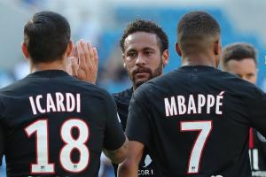 PSG regresó con público y una gran exhibición de Neymar, Mbappé, Di María e Icardi