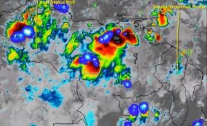 El estado del tiempo en Venezuela este lunes #13Jul, según el Inameh