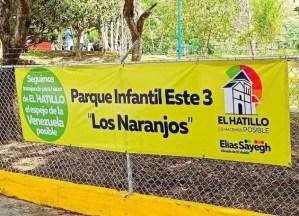 Alcaldía del Hatillo rehabilitó e inauguró el parque de Los Naranjos (FOTOS)