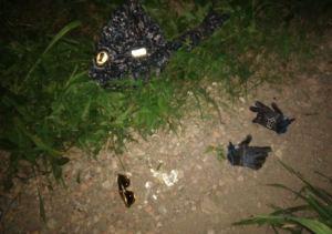 Hallaron cadáver baleado junto a un uniforme de la PNB en la autopista Prados del Este