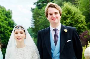 Una princesa se casó con un periodista en tiempos de pandemia (Fotos)