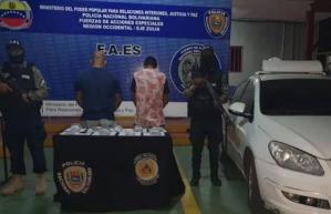 Arrestados tío y sobrino por tráfico de drogas en el Zulia