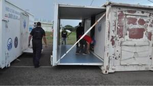 Trasladan hospital de campaña de Santa Elena hasta Ciudad Guayana para la atención de pacientes con Covid-19