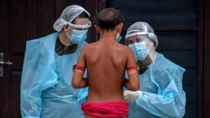 Brasil registró más de 30 mil contagios de coronavirus en su último informe