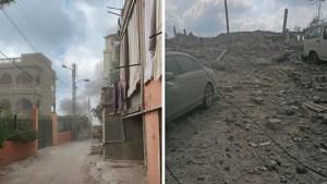 Una explosión sacude Ain Qana, en el sur del Líbano (Fotos y Videos)