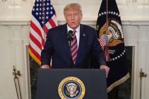 Trump pide en la ONU que se responsabilice a China por la pandemia