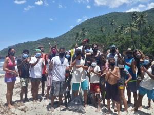 La Ola Solidaria llegó por mar a Ocumare y Cuyagua incomunicadas por derrumbes en carretera