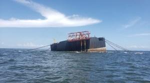 Expertos de Trinidad y Tobago no ven riesgo de hundimiento de barco en el Nabarima