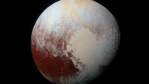 Descubren la extraña naturaleza de las capas de hielo de Plutón
