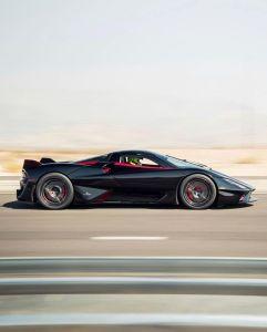 El Tuatara alcanzó 532,7 kilómetros por hora y es el carro de producción más veloz del planeta (VIDEO)