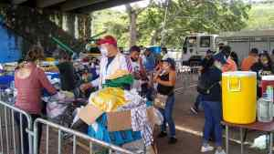 En San Cristóbal realizan jornadas para atender a los caminantes