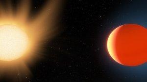 """Astrónomos revelaron detalles de la extraña atmósfera del exoplaneta que """"no debería existir"""""""