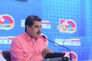 """Maduro amenazó con iniciar un supuesto """"juicio público"""" contra Guaidó"""