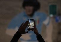 """El Nápoles jugará con una camiseta """"argentina"""" en honor a Diego Maradona"""