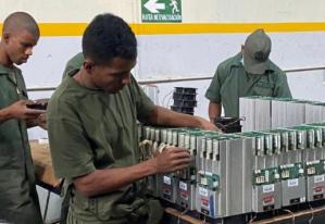 ¿Minas de criptomonedas? Filtran fotos de militares venezolanos en el nuevo negocio del régimen