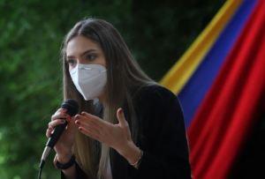 Fabiana Rosales reconoció labor de quienes ejercen el periodismo en Venezuela