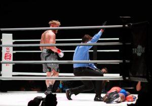El brutal golpe del Youtuber Jake Paul que desmayó a la estrella de la NBA Nate Robinson (Video)