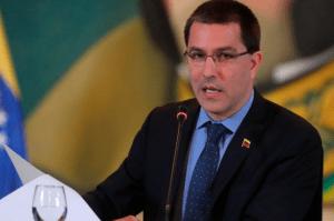 Arreaza pidió a la Cruz Roja que medie en liberación de militares prisioneros