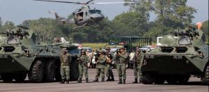 Al menos 49 militares venezolanos en la lista de sanciones internacionales