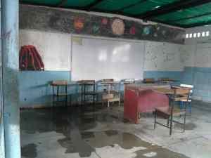 Manuel Gedler: Culebras, ratas, cucarachas y aguas negras salen de escuelas y liceos de Cartanal en Miranda