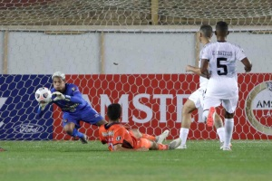 Caracas FC rescató empate frente a César Vallejo en Copa Libertadores