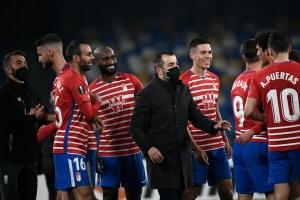 El Granada de Machís y Herrera consuma sorpresa ante Nápoles y accede a octavos de Europa League