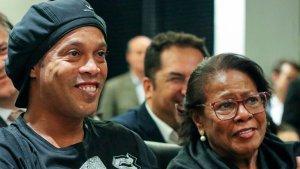 Ronaldinho despidió a su madre con un emotivo mensaje en redes sociales
