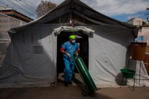 En Venezuela se agrava la escasez de oxígeno mientras avanza la pandemia