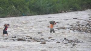 Tragedia: Abuelo murió junto a sus dos nietos al cruzar el río Táchira hacia Colombia