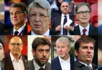 Conozca a los doce personajes impulsores de la Superliga europea de fútbol