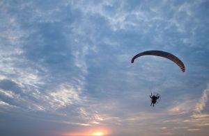El parapente, la sensación de volar por un día