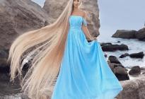 Rapunzel de la vida real: Esta mujer no se ha cortado el pelo desde los cinco años (FOTOS)