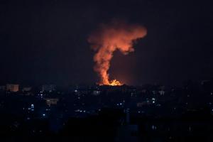 Israel bombardeó la residencia del máximo responsable del grupo terrorista Hamás