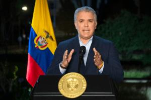 Iván Duque confirma el primer caso de la variante delta del coronavirus en Colombia