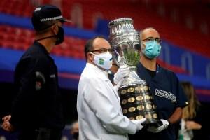 El emotivo homenaje a médicos en el inicio de la Copa América (VIDEO)