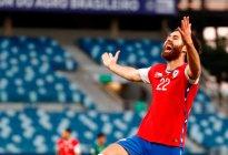 Con gol del inglés Brereton, Chile se va al descanso con mínima ventaja ante Bolivia (Video)