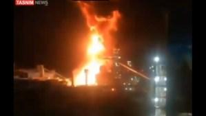 Incendio en una acería en Irán es el más reciente de una serie de incidentes