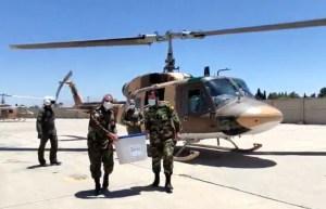 Se estrelló un helicóptero que transportaba papeletas de las elecciones presidenciales en Irán
