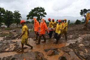 Al menos 115 muertos y decenas de desaparecidos por lluvias monzónicas en India