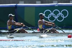Los criollos César Amaris y José Guipe se despidieron de Tokio al terminar terceros en remo doble