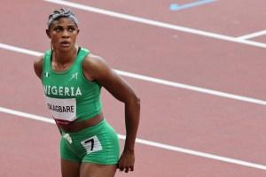 Atleta nigeriana Okagbare fue suspendida por dopaje en la final olímpica de 100 metros