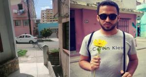 Periodista cubano Héctor Valdés publicó conversación con el esbirro que lo vigila
