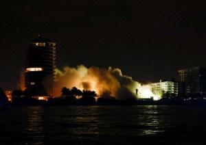 En IMÁGENES: Así fue la demolición del resto del edificio colapsado de Miami