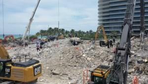 Hallaron nuevos cuerpos entre los escombros del derrumbe en Miami y la cifra de muertes confirmadas asciende a 32