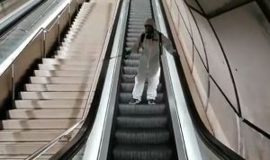 VIRAL: La insólita técnica que usa el Metro de Bilbao para desinfectar sus instalaciones (Video)