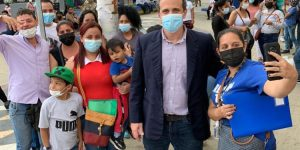 Embajador Scull visitó Tumbes durante jornada de trámites para venezolanos