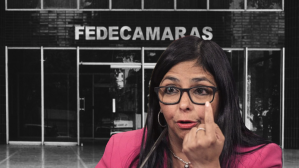 Delcy Rodríguez at Fedecámaras: A regrettable episode